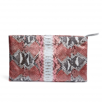 Python Clutch Big Lou Bubble Gum