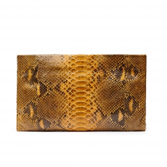 Python Clutch Lou Honey