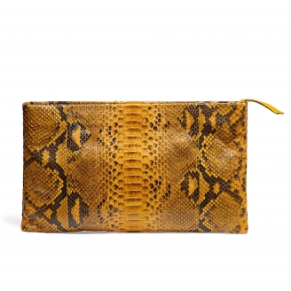 Python Clutch Big Lou Honey