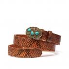 Moka Python Turquoise Belt