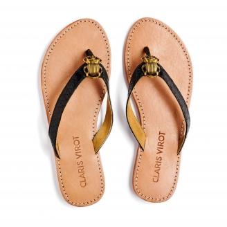Sandales Python Gisele Noir