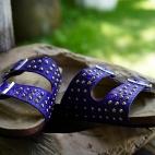 Sandals Odette Gipsy Bleu x Veronika Loubry