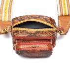 Python Moka Color Zip Mini Charly Bag