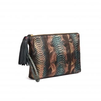 Clutch Python Andy Mettalic Peacock