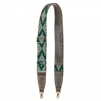 Green Woven Strap