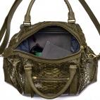 Python Dark Kaki Travel Bag Roger S