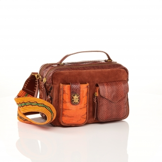Sac Python César Moka Orange