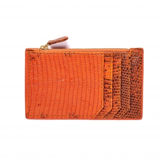 Card Holder Helena Orange Fire