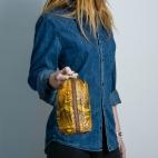 Claris Virot: Case Paulette Orange Painted    -  Hiphunters Shop