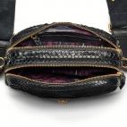 Black Python Bag Lily