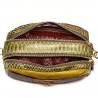 Kaki Burgundy Python Bag Lily
