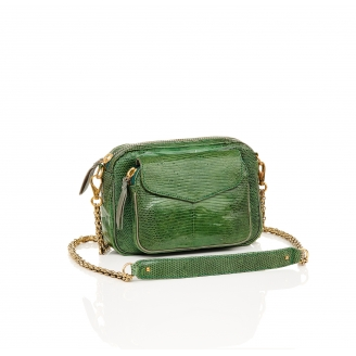 Sac Python Charly Vert Empire Lézard