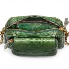 Green Empire Lizard Python Charly Bag