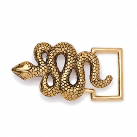 Golden Snake Buckle