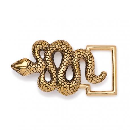 Golden Snake Buckle
