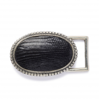 Black Lizard Dallas Buckle