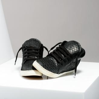 Sneakers Lenny Noir pour Hommes