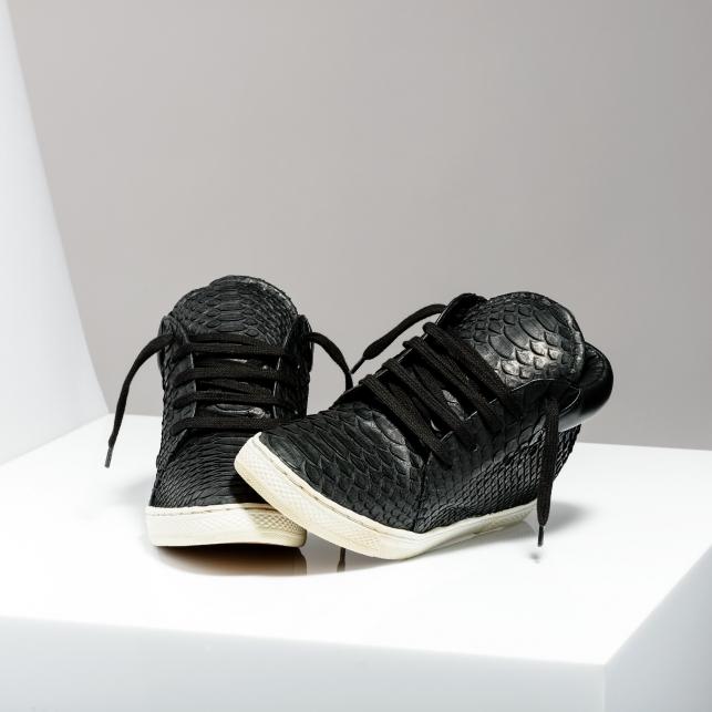 Claris Virot: Sneakers Lenny Black for Men - Hiphunters Shop