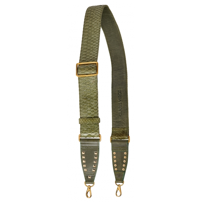 Army Python Strap with Gold Hooks
