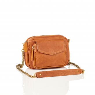 Brown Leather Charly Bag