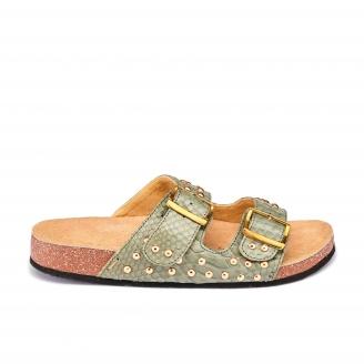 Army Python Sandals Odette