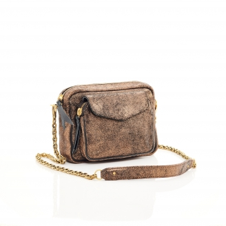 Golden Leather Charly Bag