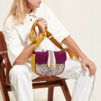 Opale Leather Bag Andrea