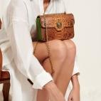 Moka Python Bag Ava Medium Turtle