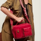 Red Python Bag Cesar