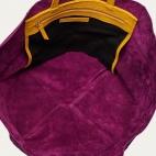 Violet Turtle Leather Tote Felix