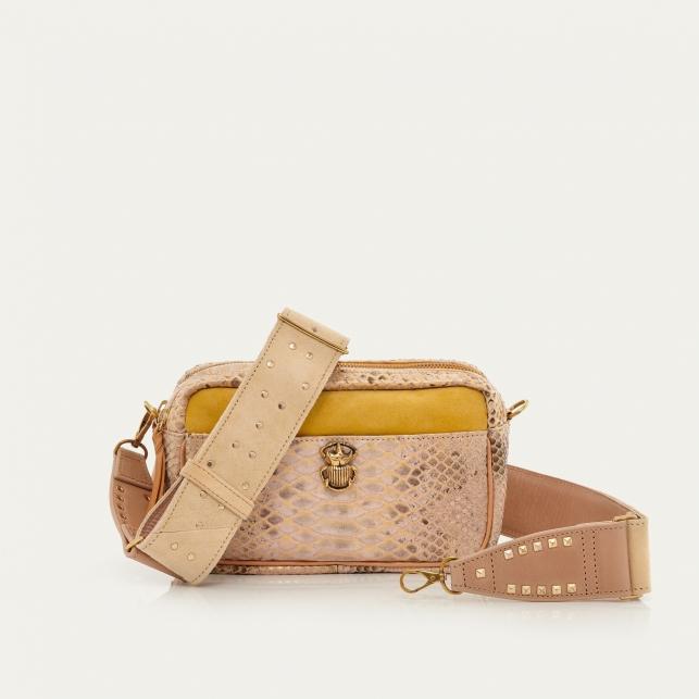 Champagne Python Bag Lily