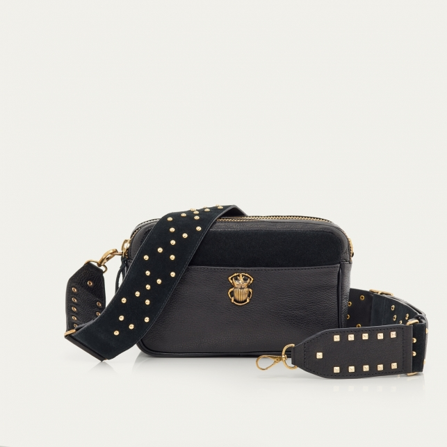 Black Calfskin Bag Lily