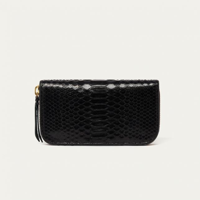 Black Python Wallet Bob