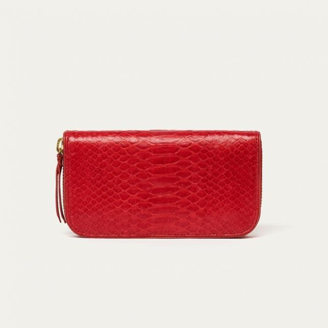 Red Python Wallet Bob