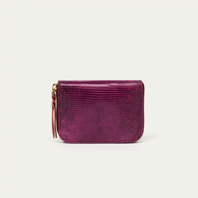 Purple Lizard Wallet Mini Bob