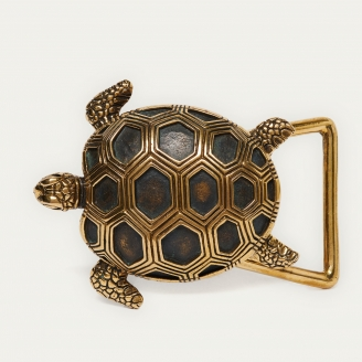 Gold Turtle Buckle