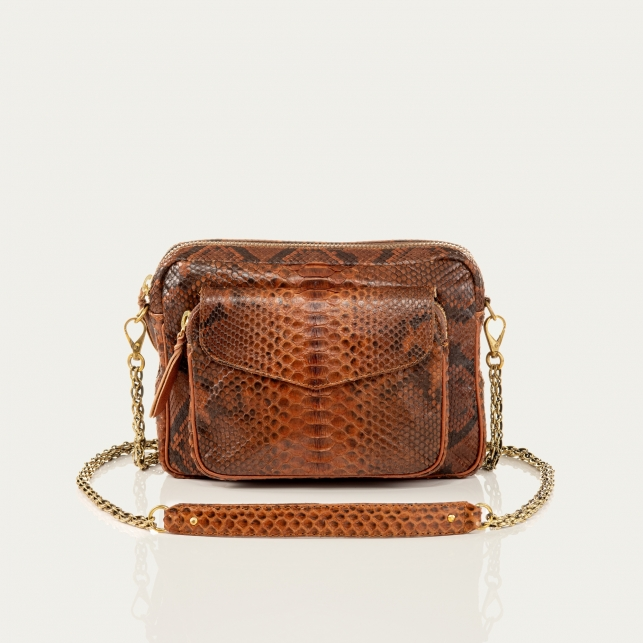 Python Bag Big Charly Moka