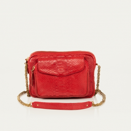 Bag Big Charly Red With Chain