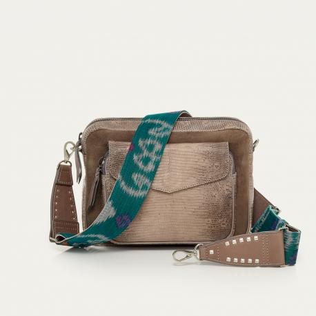 Grey Lizard Bag Big Charly