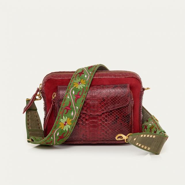 Burgundy Matcha Big Charly Bag