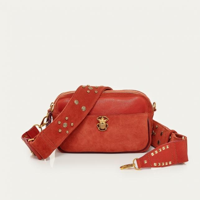 Brick Calfskin Bag Lily