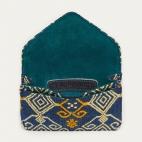Blue Sumba Card Holder Alex Beetle