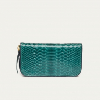 Green Blue Python Wallet Bob