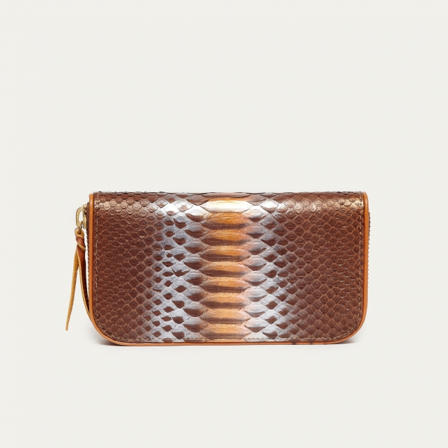 Chocolate Python Wallet Bob
