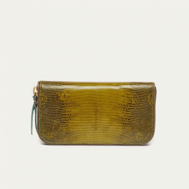 Kaki Lizard Wallet Bob