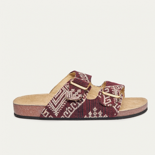 Burgundy Timor Odette Sandals