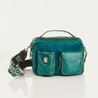 Green Blue Python Bag Cesar