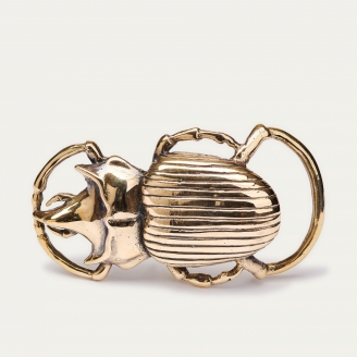 Golden Beetle Buckle