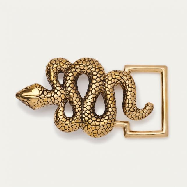 Boucle Serpent Dorée