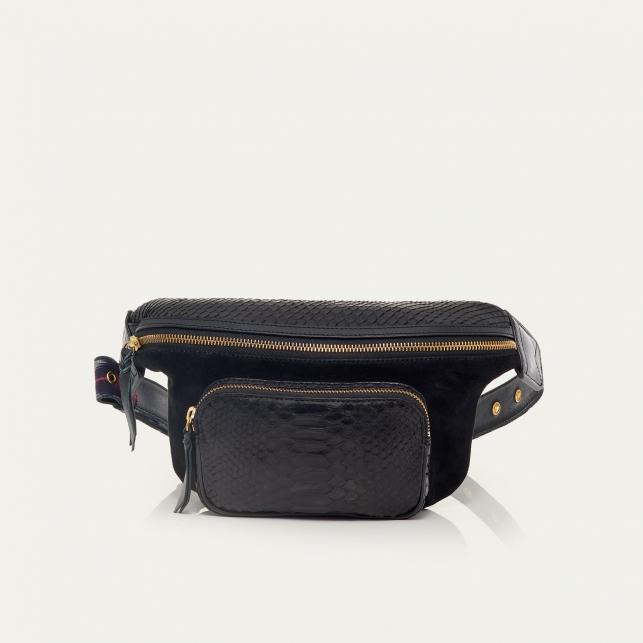 Black Python Funny Bag Romeo